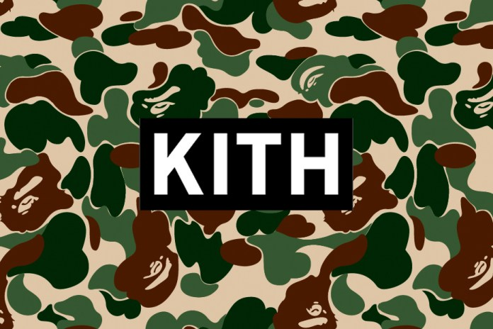 KITH Teases a Ronnie Fieg x BAPE Collaboration