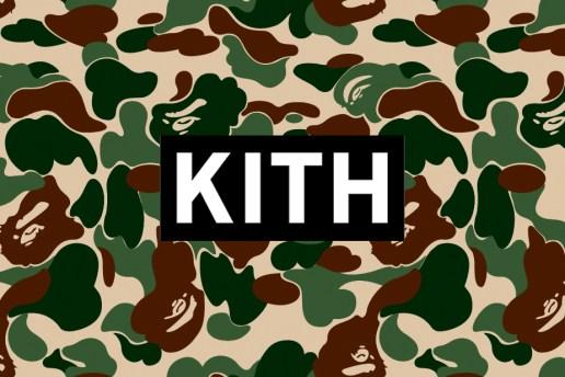 KITH Teases a Ronnie Fieg x BAPE Collaboration