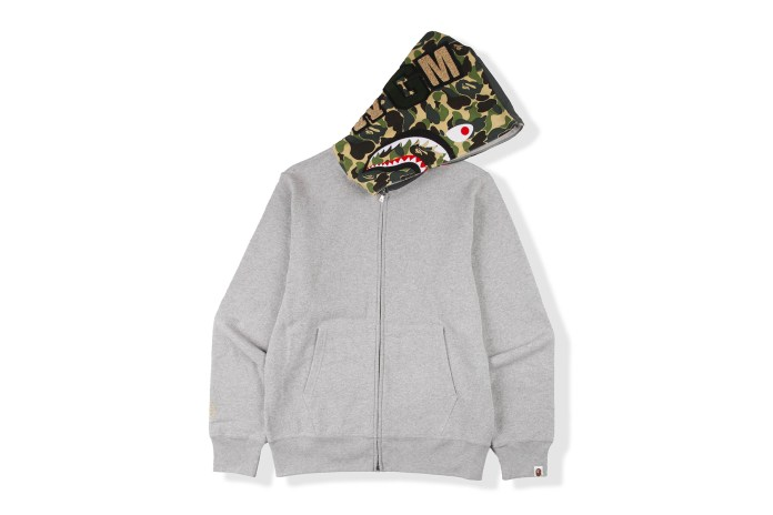 BAPE Teams up With Flat Hat Club for a New Shark Hoodie