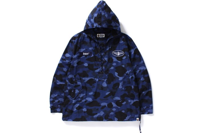 BAPE Releases New Camo-Infested Shark Items and Other Goodies