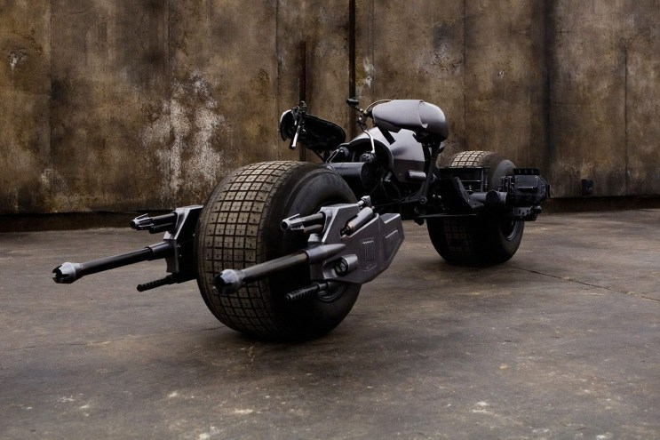 The Dark Knight's Batpod Could Be Yours