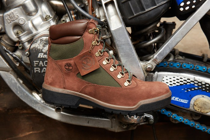 Harlem Biker Benadon Takes the Timberland Field Boot for a Ride Through the Streets of New York