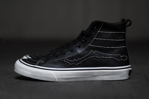 "A Closer Look at the Blends x Vault by Vans Sk8-Hi Decon LX ""Bones"""
