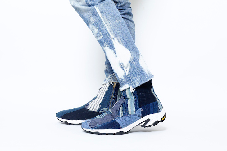 Japanese Denim Meets Japanese Footwear in This BONUM x mythography Capsule