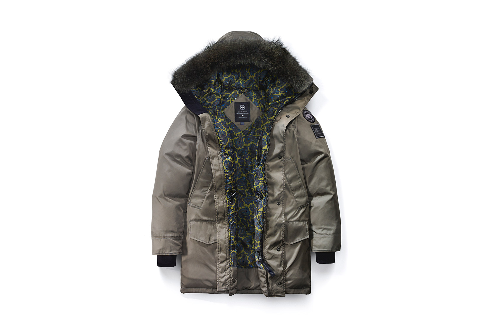 Canada Goose langford parka replica discounts - Canada Goose x Opening Ceremony 2016 Paisley Collection | HYPEBEAST