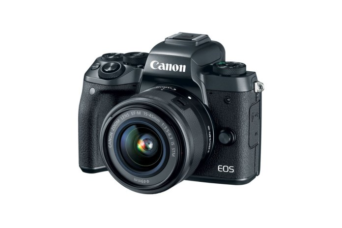 Canon Introduces Its Mirrorless M5