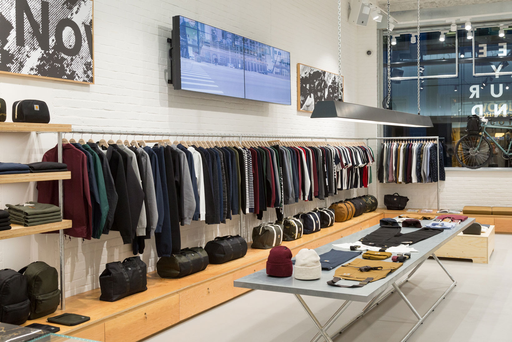 The Carhartt WIP Store in Soho, London | HYPEBEAST
