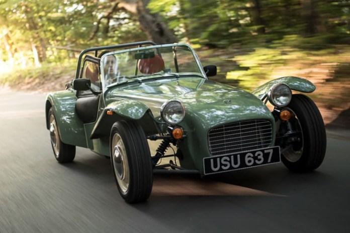 Caterham Celebrates 60th Anniversary With Limited Edition Seven Sprint