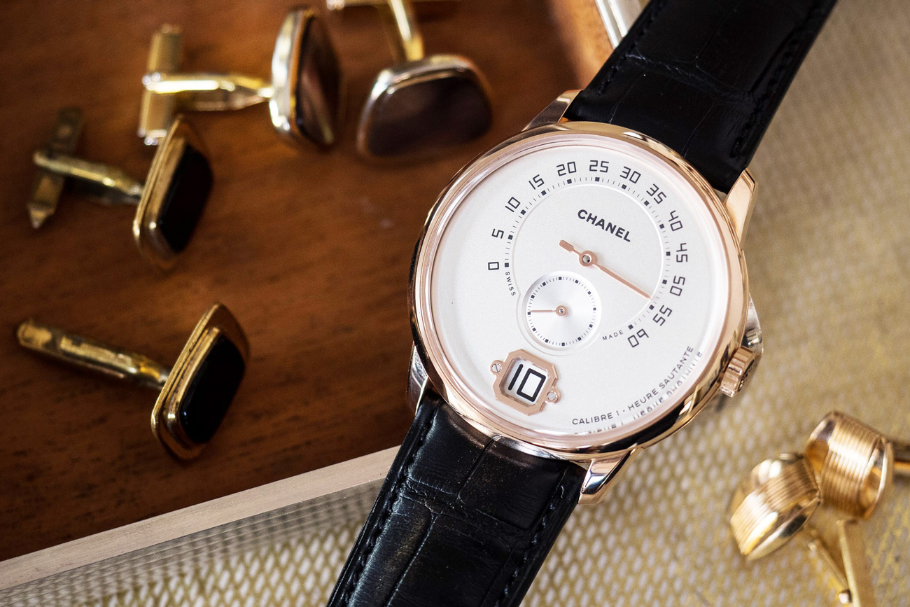Hodinkee Puts Chanel's Sleek Men's Watch in Focus