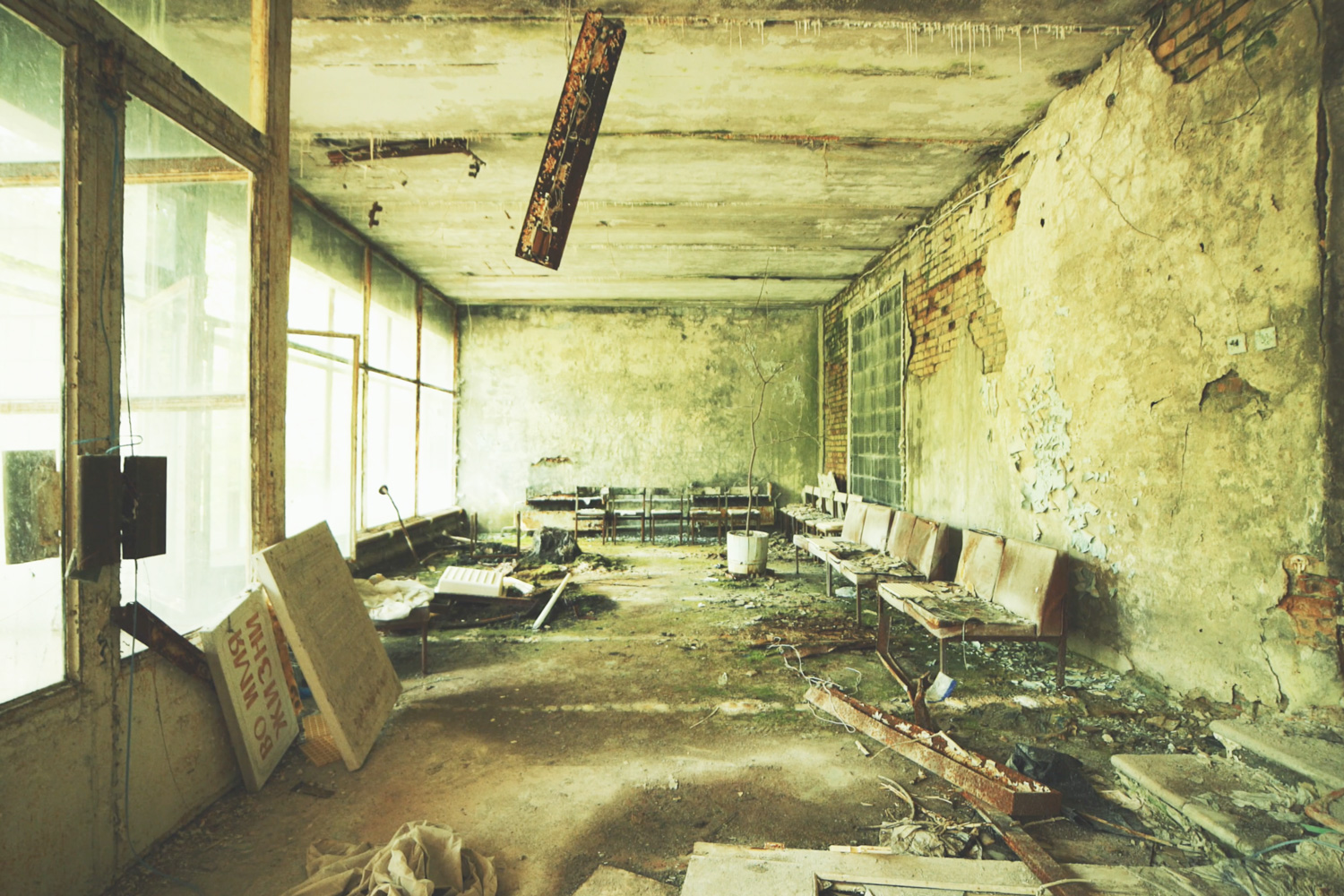 Step Inside Chernobyl's Haunting Ruins 30 Years After Its Catastrophic Nuclear Accident