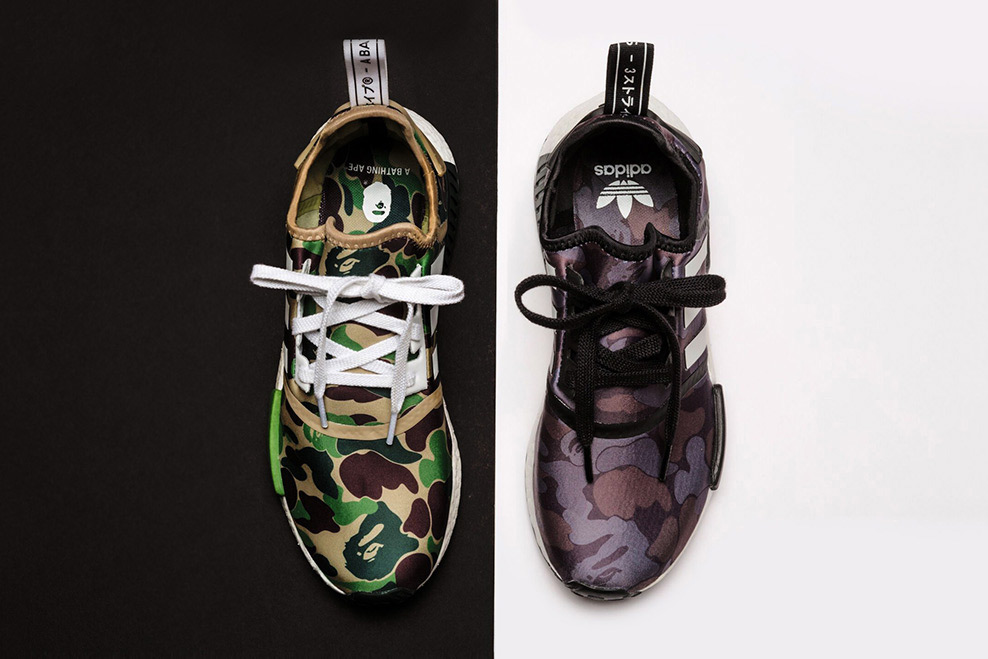 Picture of A Closer Look at the Upcoming A Bathing Ape & adidas Originals NMD R1 Collaboration