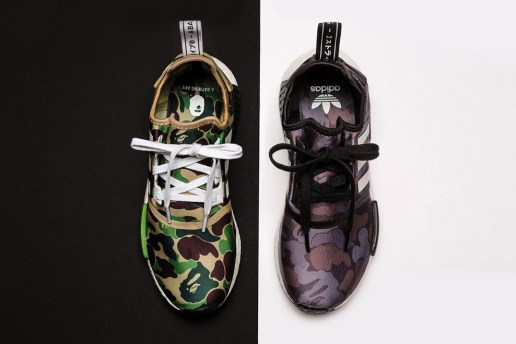 A Closer Look at the Upcoming A Bathing Ape & adidas Originals NMD R1 Collaboration