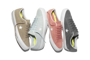The Converse CONS One Star Gets Reworked With Suede Pastels