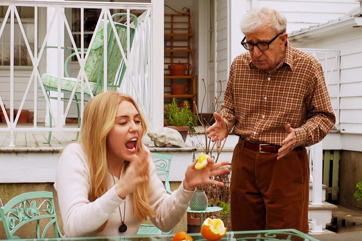 Miley Cyrus Can't Stand Woody Allen in 'Crisis in Six Scenes' Official Trailer