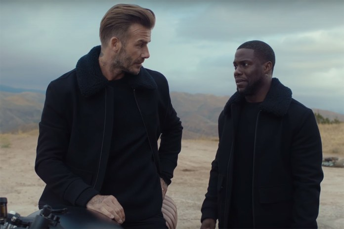 David Beckham & Kevin Hart Embark on an Eventful Road Trip to Sin City