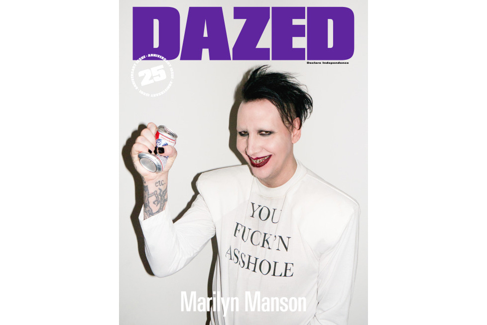 Marilyn Manson, Kate Moss and More Cover the 25th Anniversary Issue of 'DAZED'