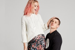 French Label The Kooples Is the Focus of EAST DANE's Latest Lookbook