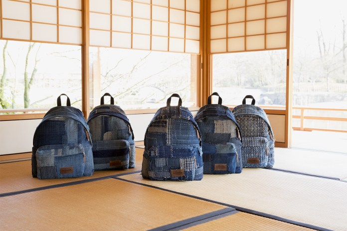 Eastpak Pays Homage to Traditional Japanese Denim