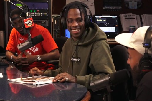 Watch Travis Scott Play Host on 'Ebro in the AM'