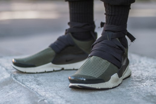 Designer Eske Schiralli Customizes His Sock Darts With Laces