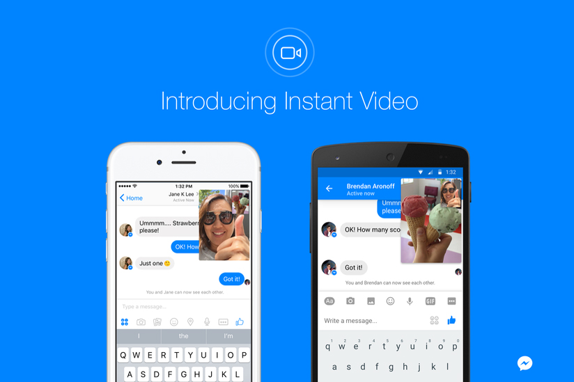 """Facebook Messenger's """"Instant Video"""" Feature Will Change the Way You Chat"""
