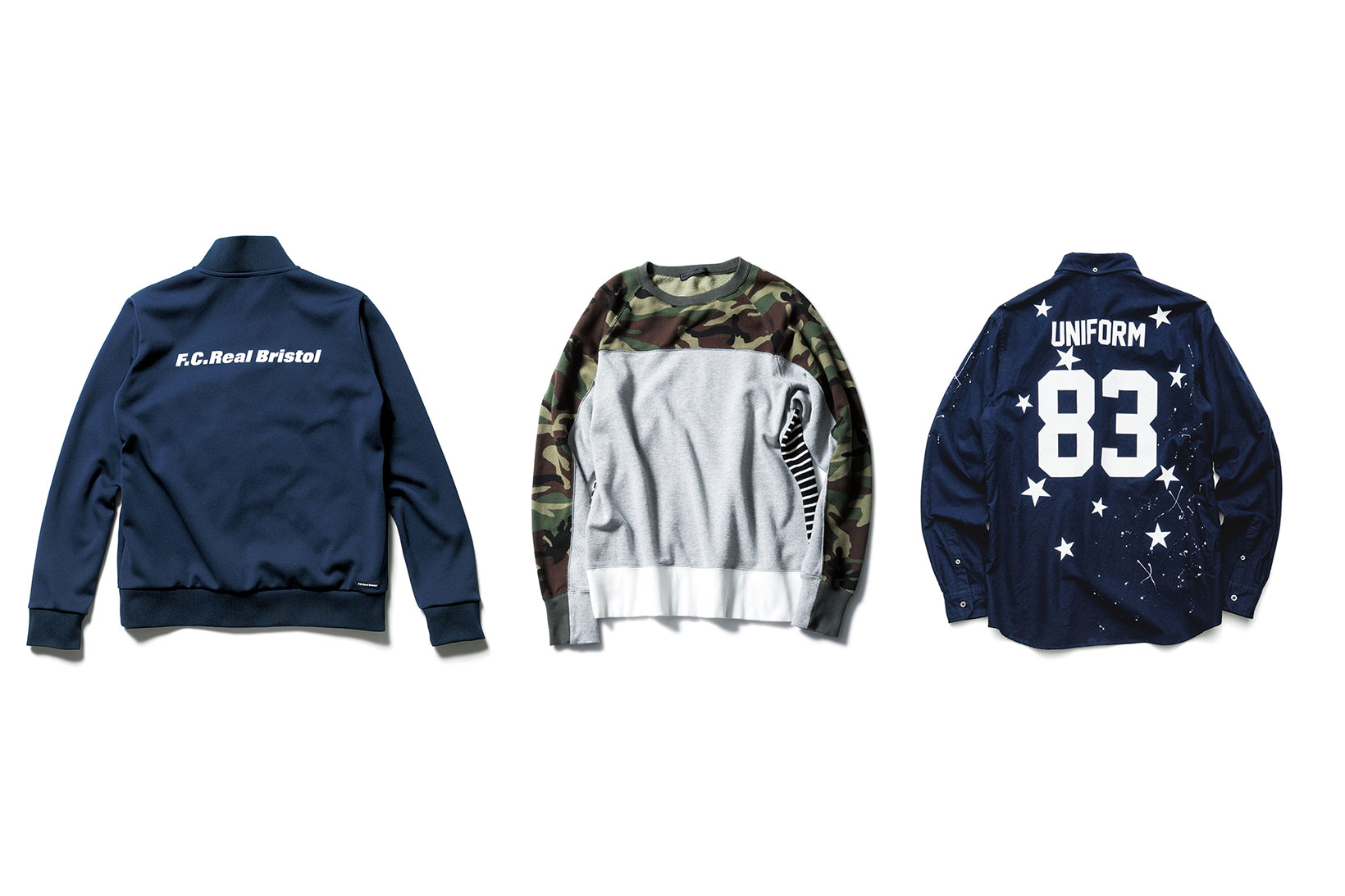 F.C.R.B., SOPHNET. and uniform experiment Offer Casual Wear Essentials for 2016 Fall/Winter