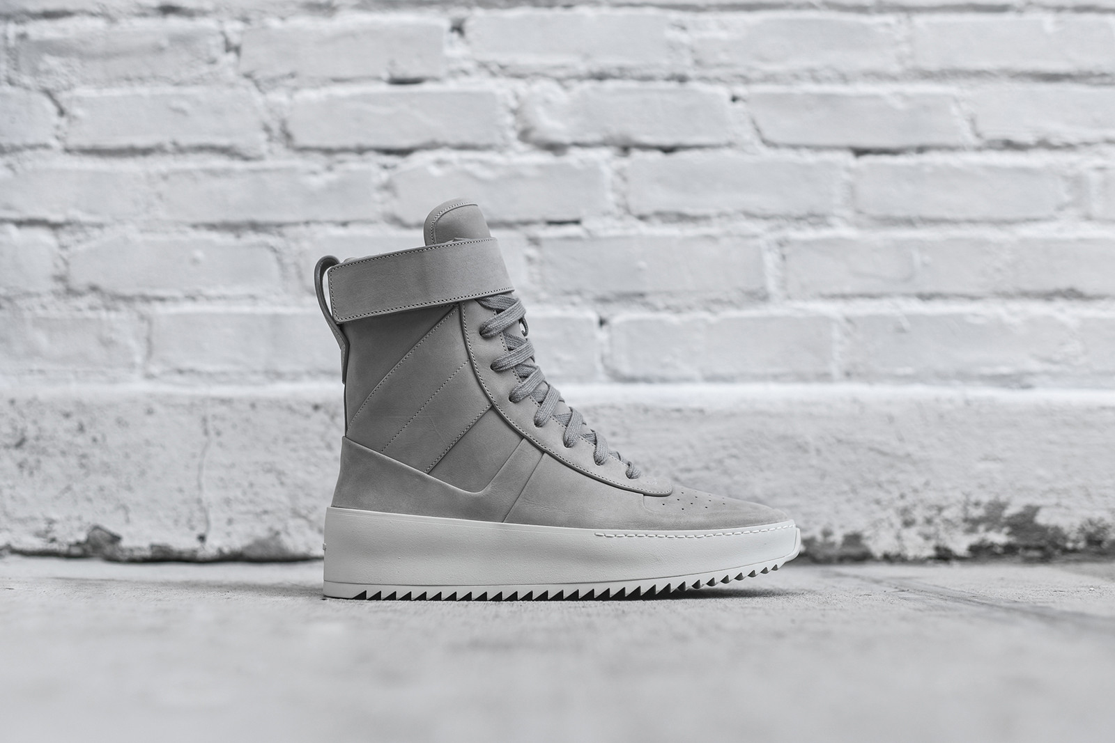 """Fear of God's Military Sneaker Dons an """"Overcast Grey"""" Theme"""