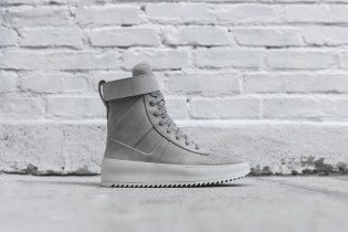 "Fear of God's Military Sneaker Dons an ""Overcast Grey"" Theme"