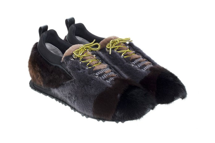 These Fendi Fur Sneakers Are for the Contemporary Outdoorsmen