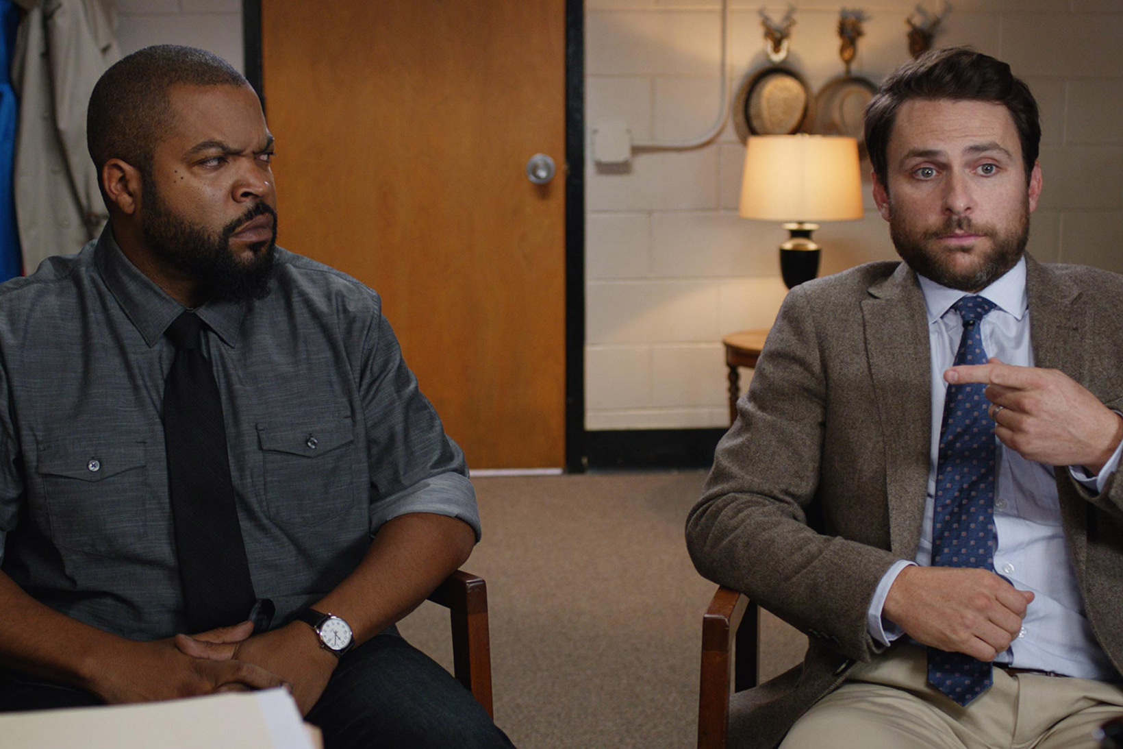 Teachers Ice Cube & Charlie Day Square up in New Movie 'Fist Fight'
