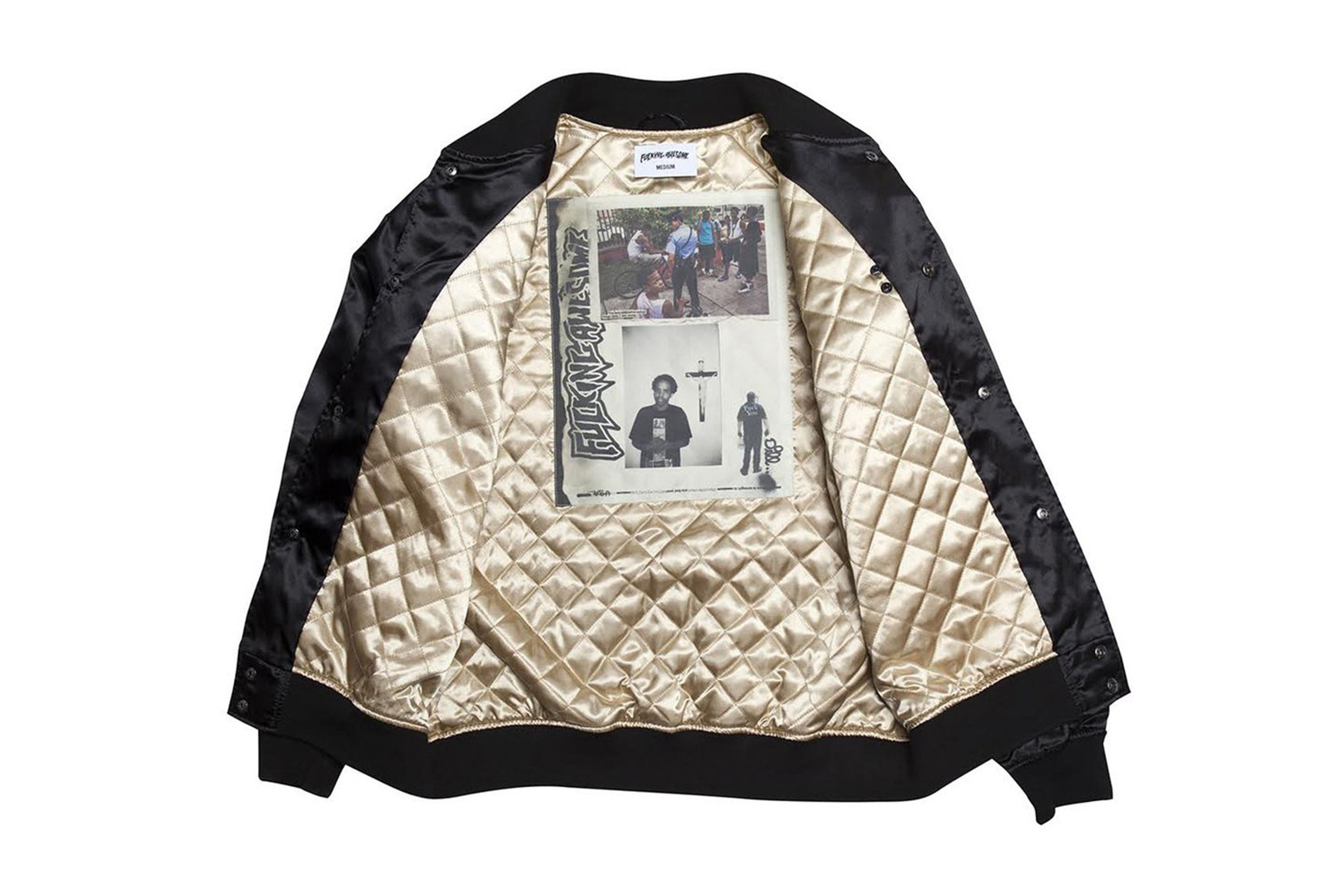 "Fucking Awesome Drops the ""Unholy Trinity"" Jacket for 2016 Fall/Winter"