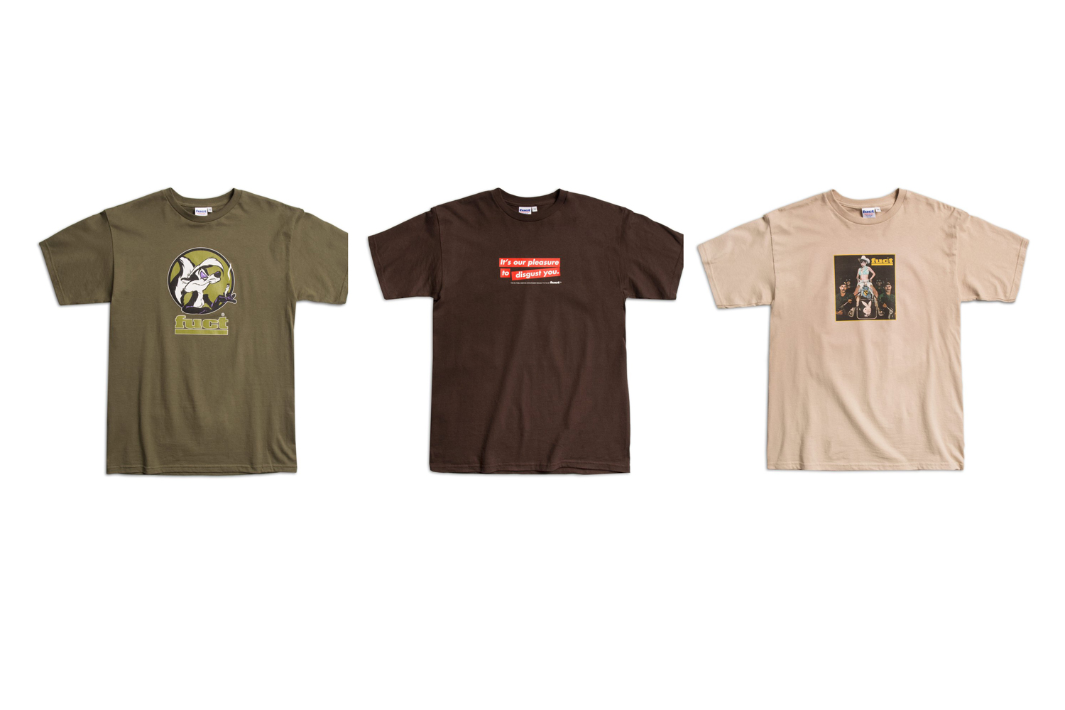 Another Collection of Vintage FUCT T-shirts Will Release Online