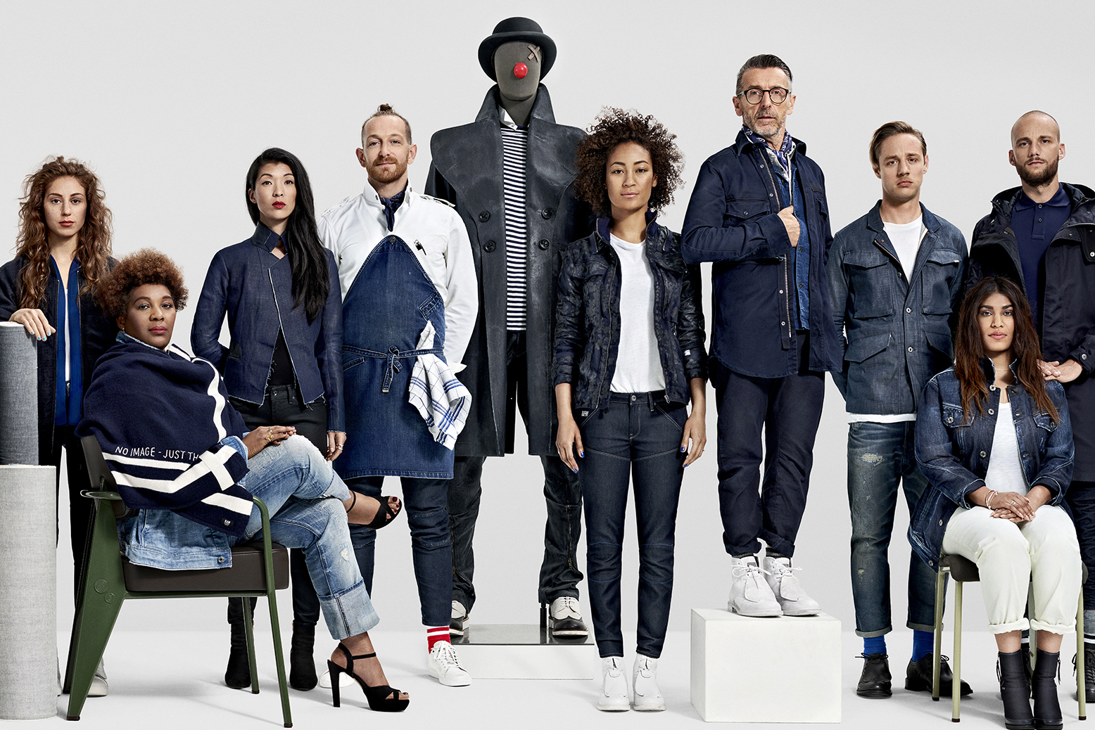 G Star RAW 2016 Fall Winter Campaign