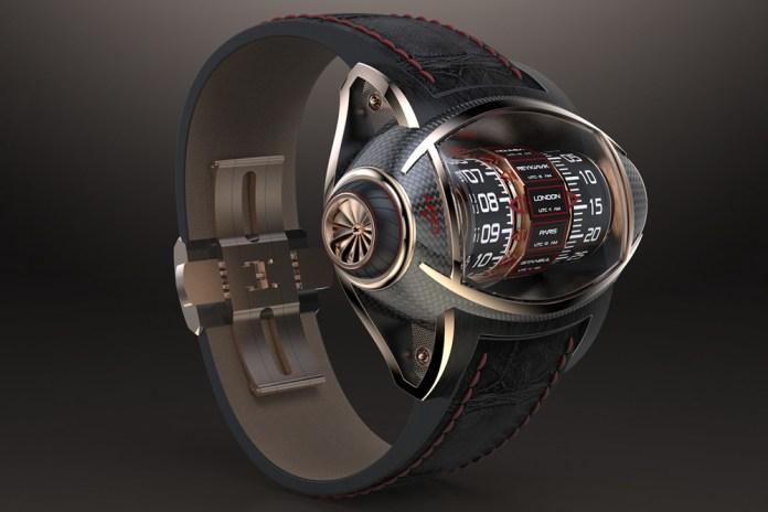 Germain Baillot Presents an Innovative Concept Watch