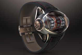 Germain Baillot Presents an Innovative Concept Watch