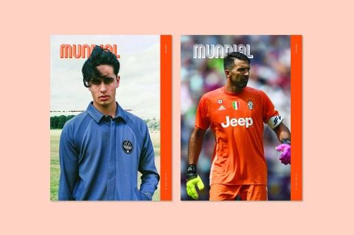Gigi Buffon & adidas SPEZIAL Cover the Seventh Issue of 'MUNDIAL'