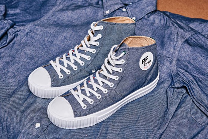 Gitman Vintage Offers a Heritage-Influenced Take on PF Flyers' Made in USA Center Hi Silhouette