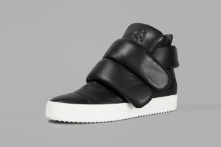 Giuseppe Zanotti's Black High Top Sneakers Are Not for the Minimalist