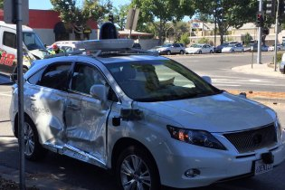 A Google Self-Driving Car Was Involved in a Serious Crash