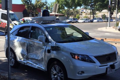 A Google Self Driving Car Was Involved in a Serious Crash