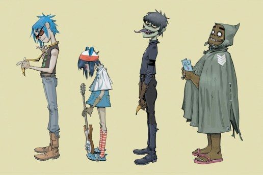 Gorillaz Hit the Social Media World by Joining Instagram