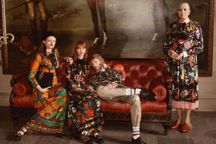 Gucci Salutes All Things British With Its New Cruise 2017 Campaign