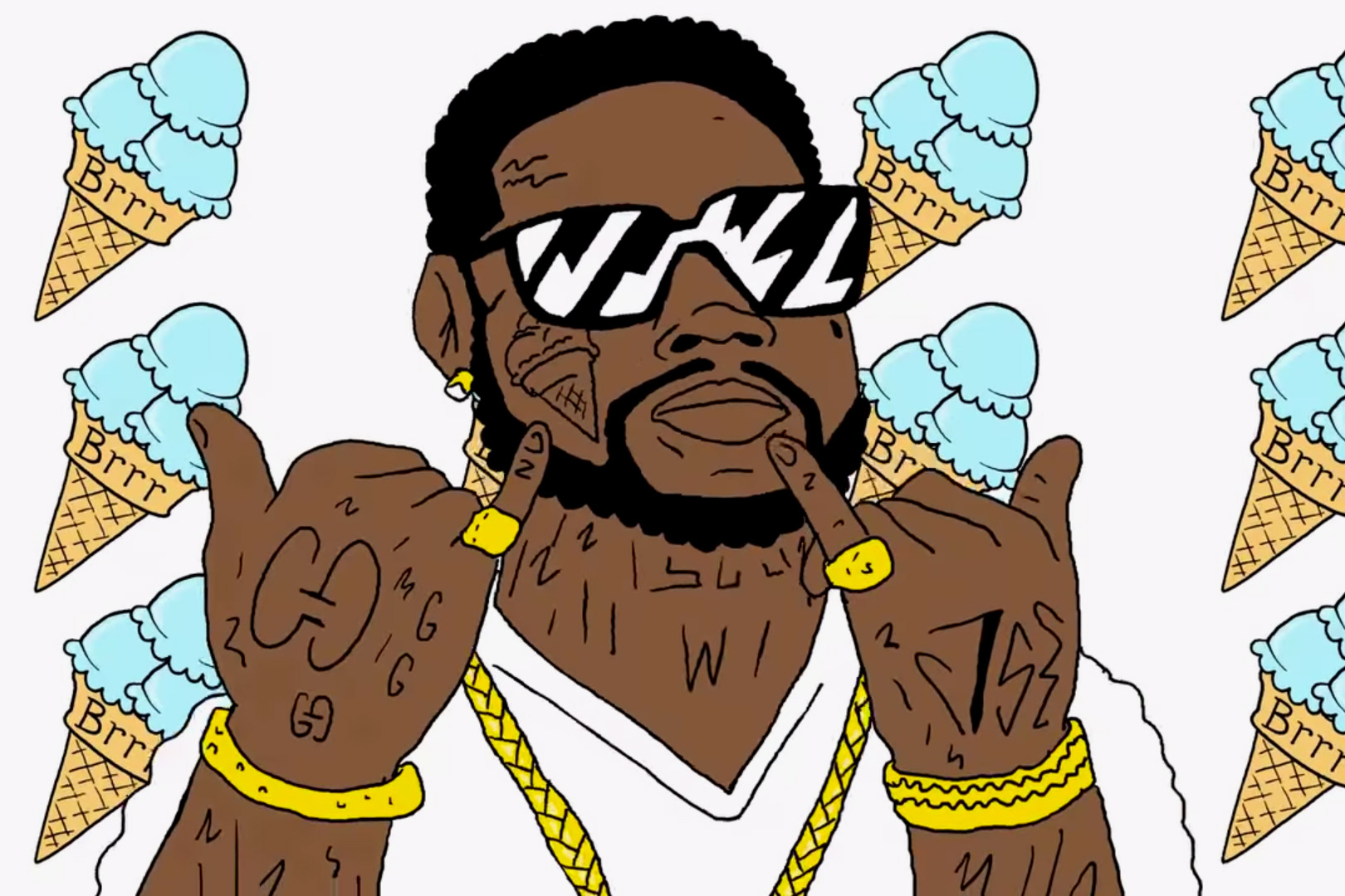 "Gucci Mane Releases Cartoon-Inspired Video for ""All My Children"""