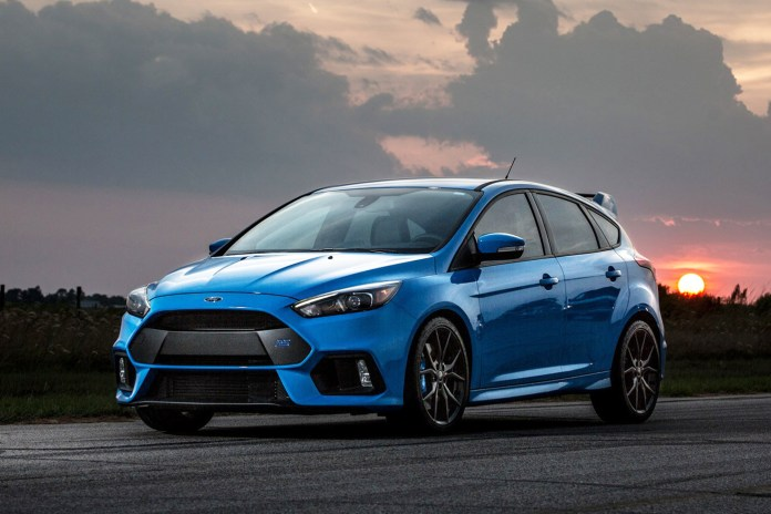 Hennessey Gives the Ford Focus RS a High Performance Boost