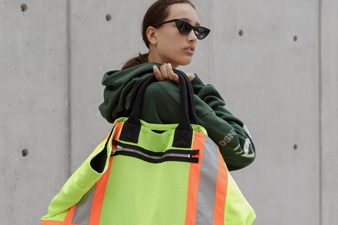 A Full Look at Heron Preston's DSNY Collaboration