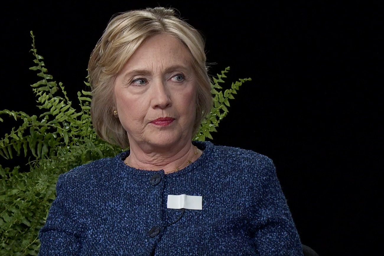Watch Hillary Clinton's Incredibly Awkward Interview on 'Between Two Ferns'