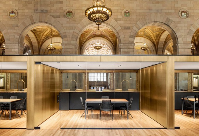 Historic Montreal Bank Converted to Tech Startup Office Space