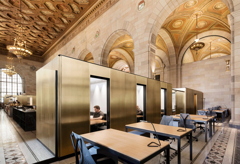Historic Montreal Bank Tech Startup Office Space