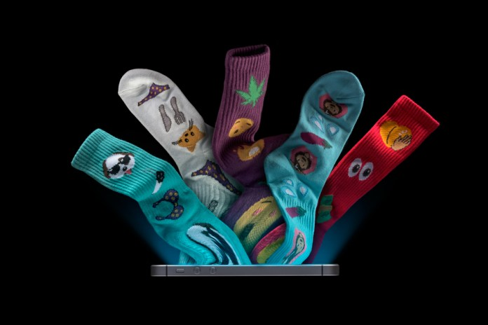 HUF Drops a Range of Emoji-Clad Socks