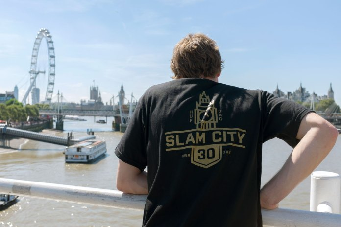 HUF and Slam City Skates Team up for 30th Anniversary Capsule Collection